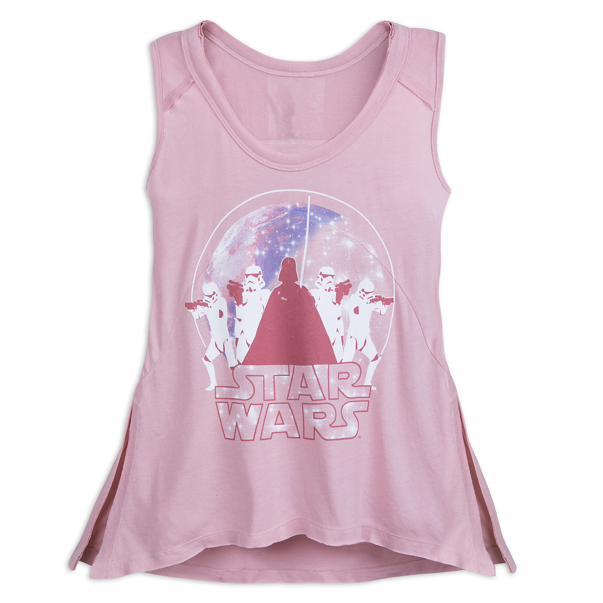 231d52b9580e24 Disney Tank Top for Women - Star Wars - Darth Vader - Pink