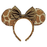 Disney Ears Headband Hat - Minnie Animal Print - Giraffe