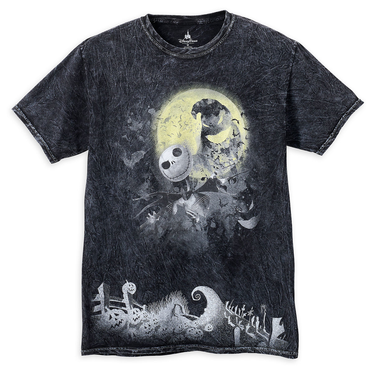Disney Men\'s Shirt - Nightmare Before Christmas - Jack & Oogie Boogie