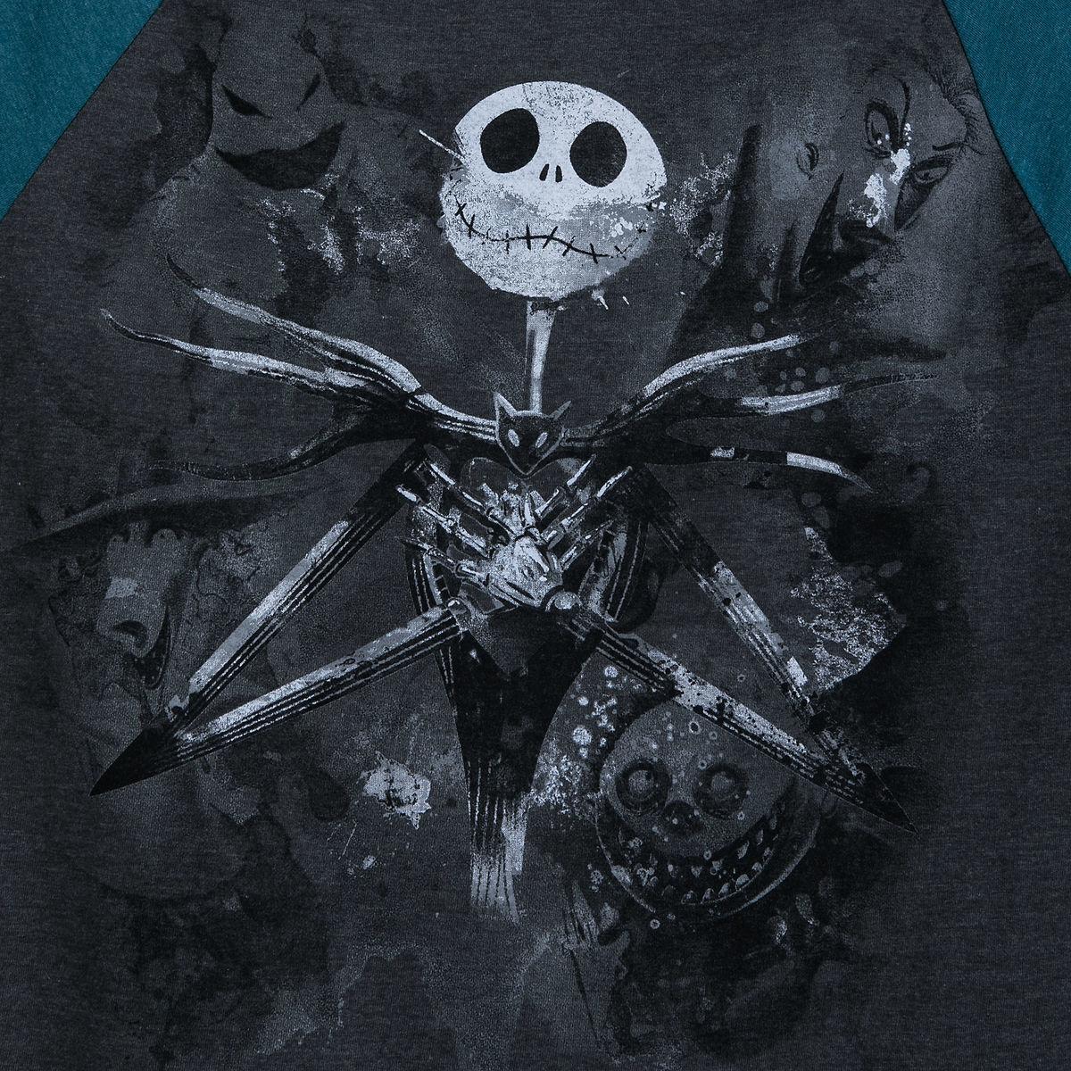 Disney Shirt for Men - Nightmare Before Christmas Baseball T-Shirt