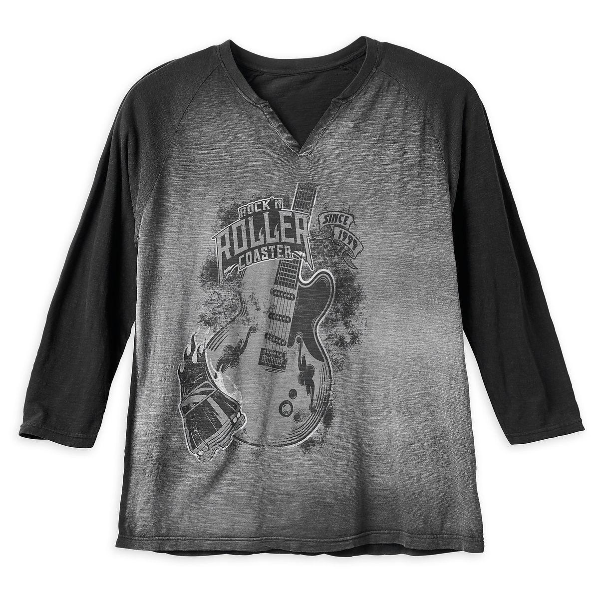 20a0eacb4ea Disney Shirt for Men - Rock N  Roller Coaster - Burnout Jersey