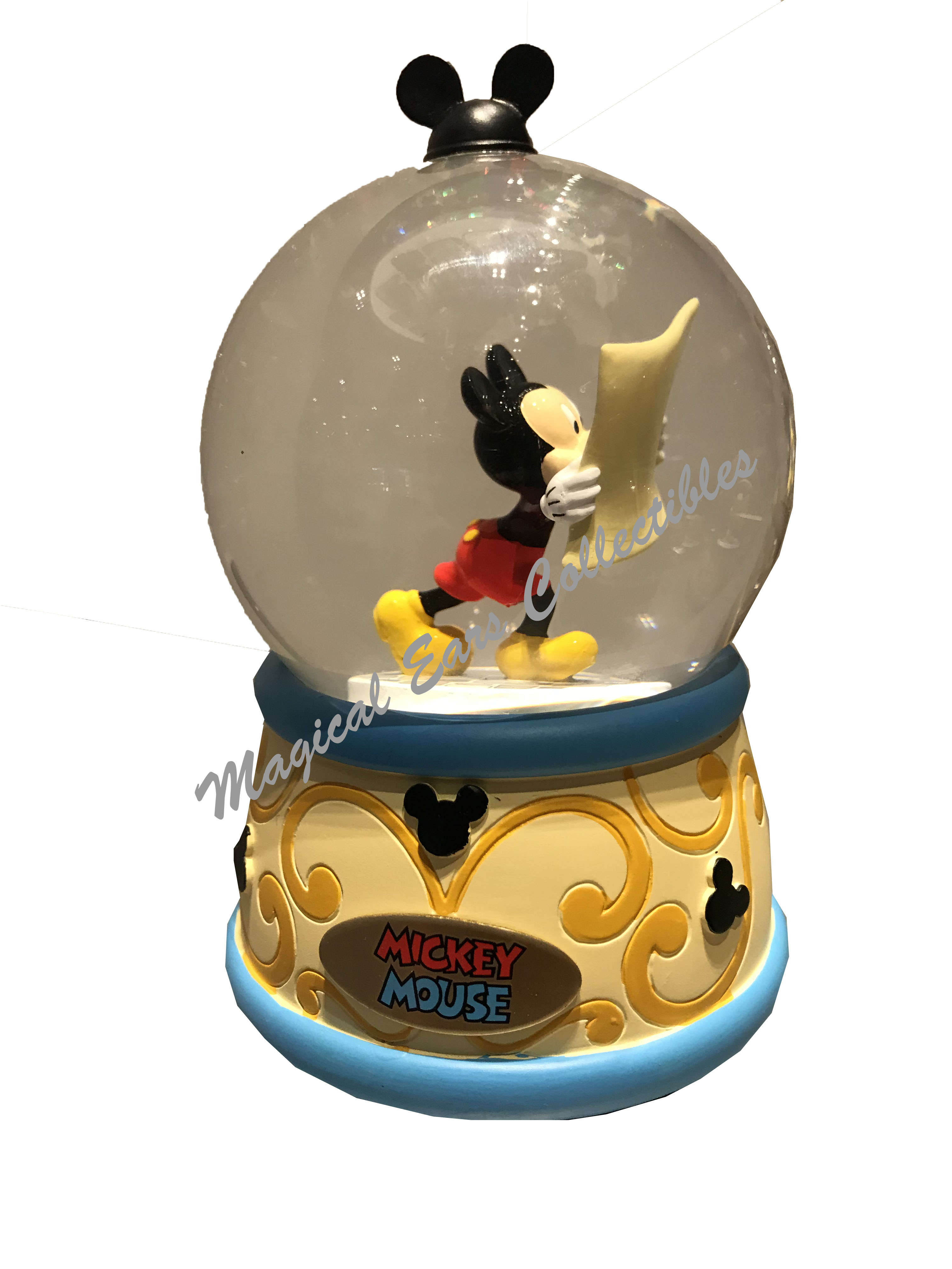Disney Mickey Mouse Musical Waterglobe  2016