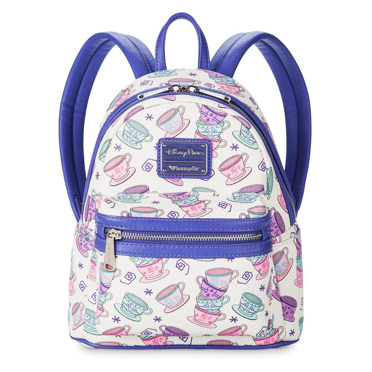 7b30aa4e579 Disney Loungefly Backpack - Mad Tea Party - Tea Cups - Mini