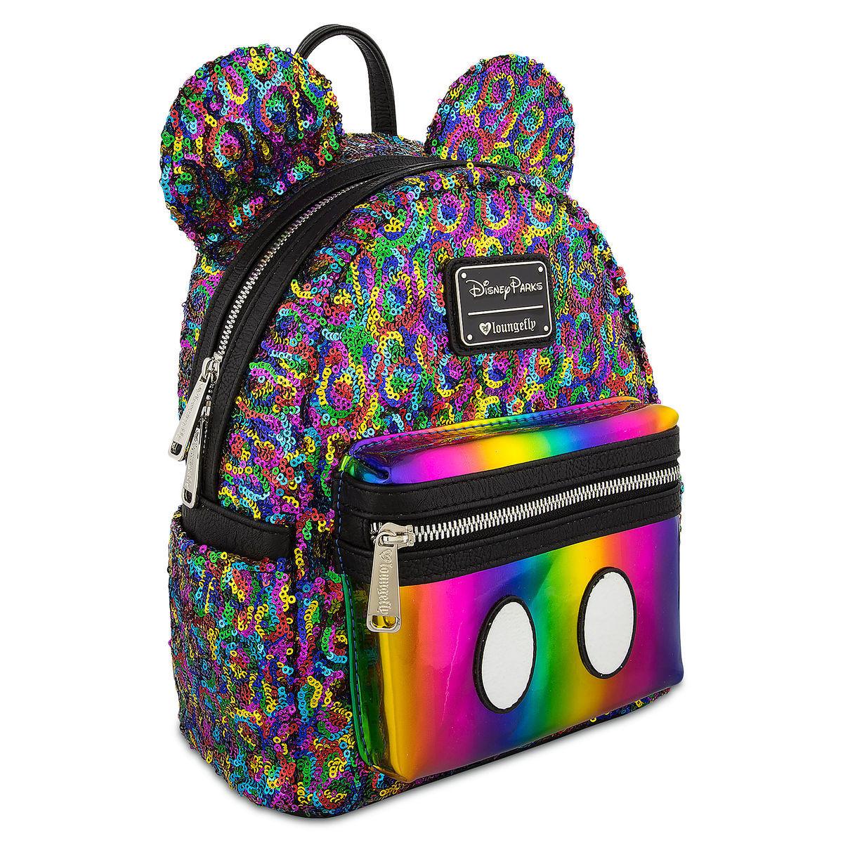 Disney Loungefly Backpack - Mickey Mouse Rainbow - Mini