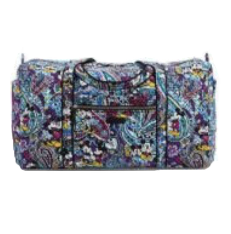 Disney Vera Bradley Duffel Bag - Mickey's Iconic Collection