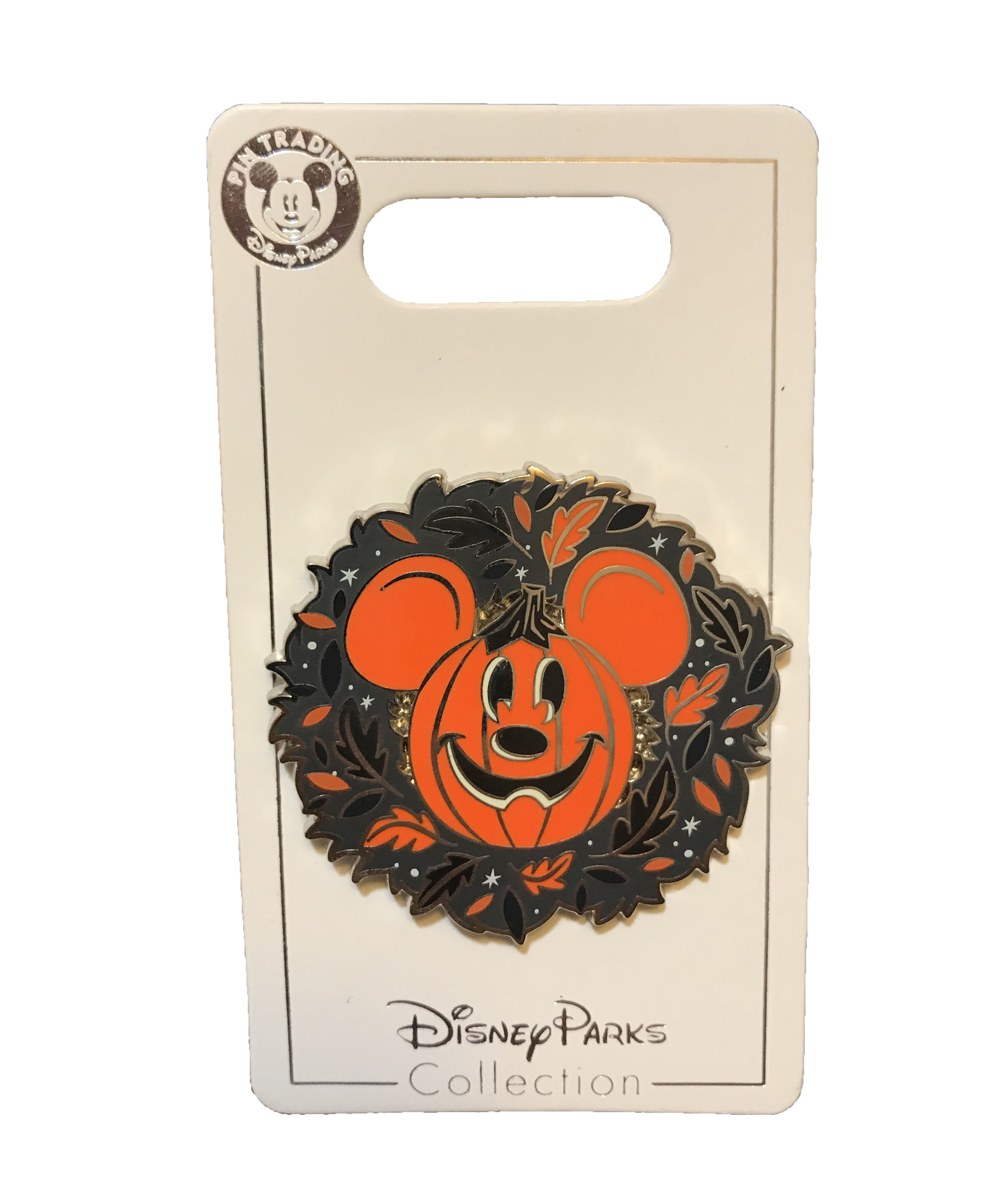 Disney Halloween Pin Mickey Mouse Pumpkin