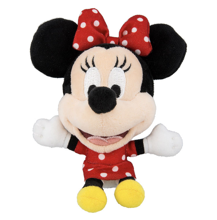 Disney Magnet - Minnie Mouse Big Head Plush