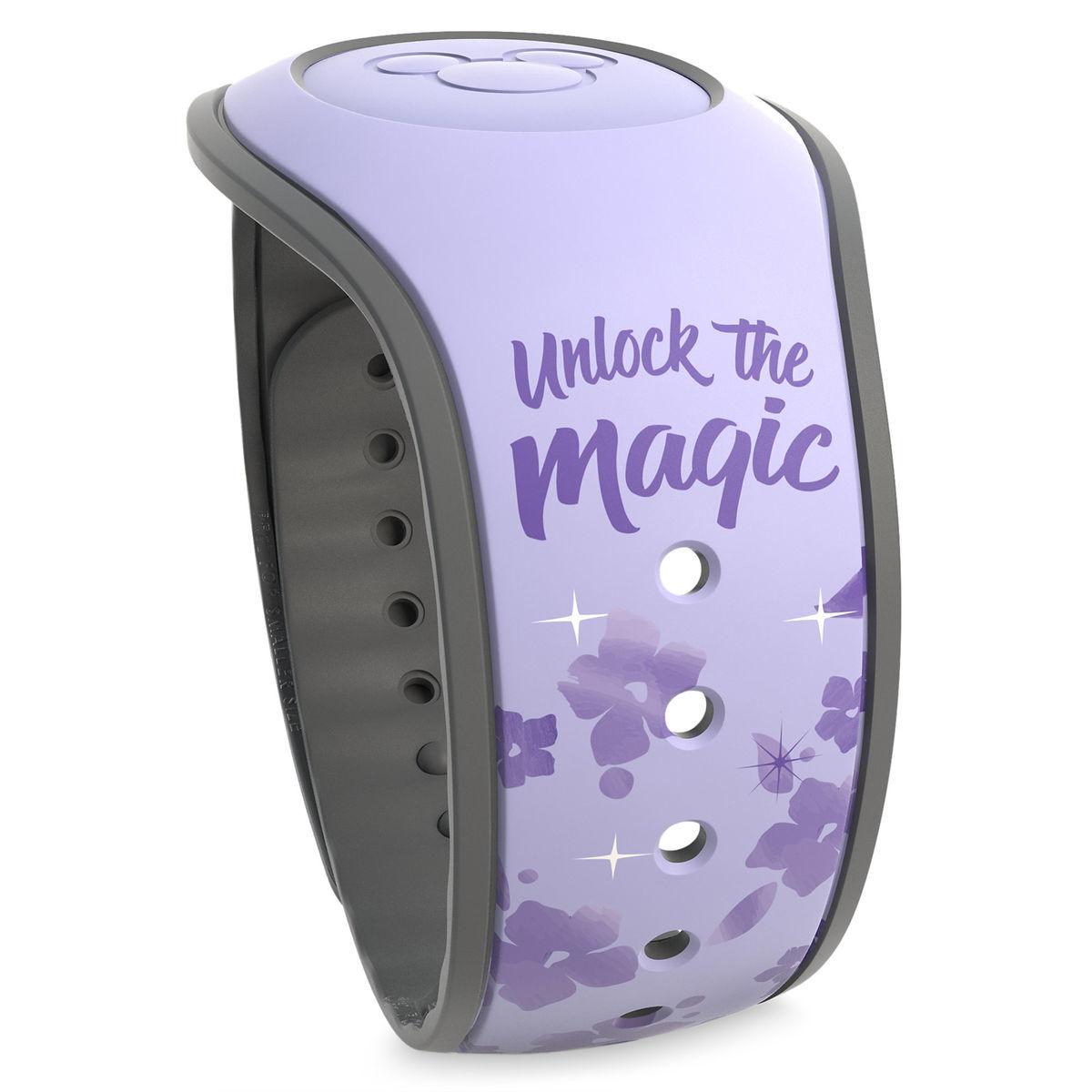 Disney TIANA PRINCESS /& THE FROG Purple Magic Band 2.0 Magicband Parks NEW