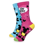 Disney Adult Socks - Mickey Mouse - Oh Boy