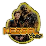Disney Star Wars Pin - Star Wars Story - Han Solo and Chewbacca