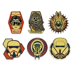 Disney Pin Trading Booster Set - Star Wars Story - 6 Pins