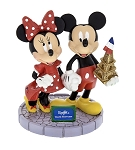 Disney Figurine - Mickey and Minnie Mouse Eiffel Tower