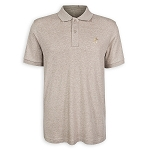 Disney Polo Shirt for Men - Mickey Mouse Pima Cotton - Oatmeal