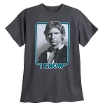 Disney Shirt for Men - Han Solo - I Know - Couples