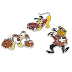 Disney Tower of Terror Pin Set - Goofy, Donald, and Pluto