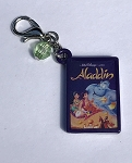 Disney Dangle Charm - Charmed in the Park - Aladdin Book