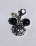 Disney Dangle Charm - Charmed in the Park - Mickey Spaceship Earth
