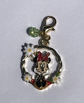 Disney Dangle Charm - Charmed in the Park - Minnie with Flowers