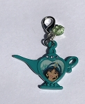 Disney Dangle Charm - Charmed in the Park - Jasmine Lamp