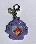 Disney Dangle Charm - Charmed in the Park - Ariel Shell