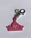 Disney Dangle Charm - Charmed in the Park - Aurora Tiara