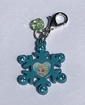 Disney Dangle Charm - Charmed in the Park - Elsa Snowflake