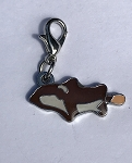 Sea World Dangle Charm - Charmed in the Park - Shamu Icecream
