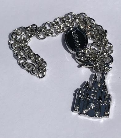 80623231c26eb Disney Charm Bracelet - Charmed in the Park - Cinderella Castle