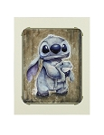 Disney Wilson Art Print - Toad Hug - Stitch and Toad
