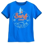 Disney Shirt for Boys - Mickey Mouse Surf Shop - Blue