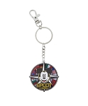 Disney Keychain - Epcot Mickey Flags Spinner