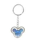 Disney Keychain - Mickey Icon Fireworks Spinner