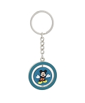 Disney Keychain - Mickey and Pluto Spinner