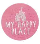 Disney Magnet - Cinderella Castle - My Happy Place