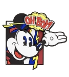 Disney Magnet - Mickey Mouse Comic - Oh Boy