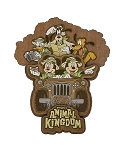 Disney Magnet - Animal Kingdom Safari - Mickey and Friends