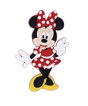 Disney Magnet - Minnie Mouse Standing - Rubber
