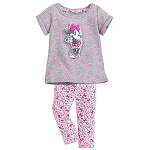 Disney Top and Leggings Set for Baby - Sweet Minnie Mouse