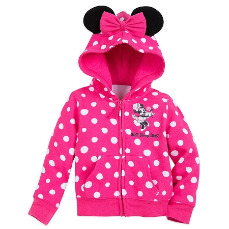 Disney Ears Hoodie for Toddler - Sweet Minnie Mouse