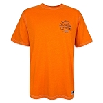Disney T-Shirt for Men - Walt Disney World Collegiate Pennant - Orange