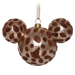 Disney Christmas Ornament - Mickey Mouse Ears - Giraffe