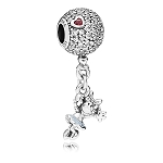 Disney Pandora Charm - Minnie Mouse Dangle - Silver