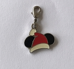Disney Dangle Charm - Charmed in the Park - Mickey Santa Hat