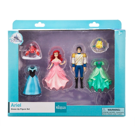 Disney Figure Set - Ariel Dress Up - The Little Mermaid