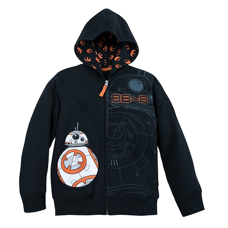 Disney Zip Hoodie for Boys - BB-8 - Star Wars