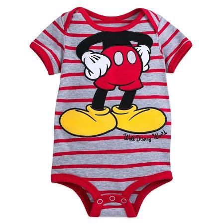 9303603c9 Add to My Lists. Disney Bodysuit for Baby - Mickey Mouse Striped - Walt  Disney World