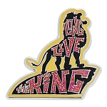 Disney Lion King Pin - Simba Long Live the King Text Art
