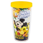 Disney Tervis Travel Tumbler - 2018 Flower and Garden - Mickey & Pluto