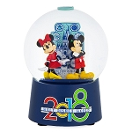 Disney Snow Globe - 2018 Mickey and Minnie - Walt Disney World