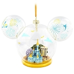 Disney Ornament - Walt Disney World Four Parks Mickey Globe
